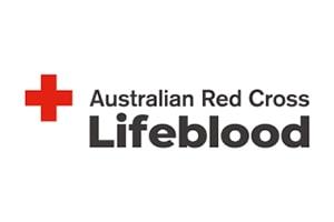 Red Cross lifeblood logo